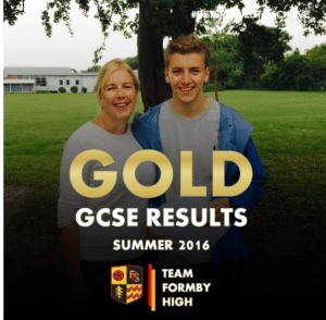 TEAM FORMBY HIGH GCSE GOLD 2