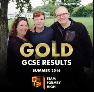 TEAM FORMBY HIGH GCSE GOLD 3