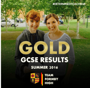 TEAM FORMBY HIGH GCSE GOLD 4