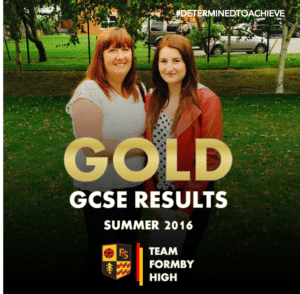 TEAM FORMBY HIGH GCSE GOLD 5