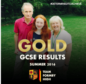 TEAM FORMBY HIGH GCSE GOLD 8