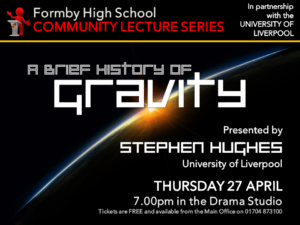 FHS COMMUNITY LECTURE GRAVITY