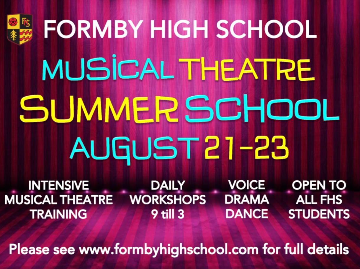 Musical Theatre Summer School 2017