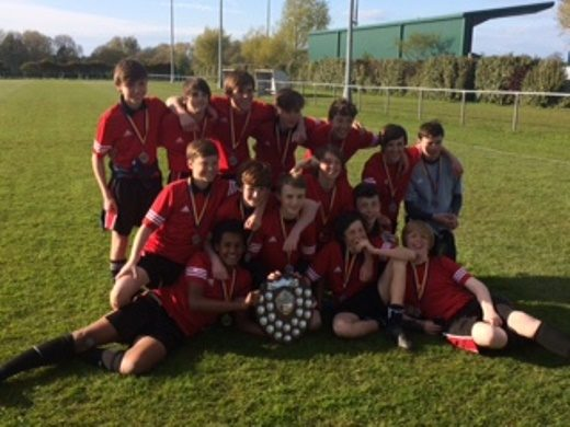 Year 9 Sefton Cup Winners news image